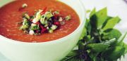 rød suppe