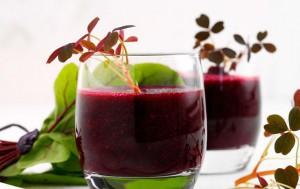Juice med rødbede